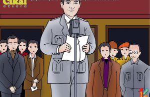 Ir. Soekarno Memproklamasikan Kemerdekaan Indonesia di Halaman Rumahnya