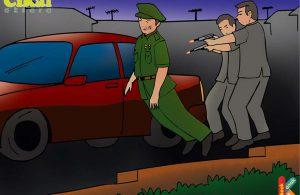 Mayjen D.I. Panjaitan Diberondong Gerombolan PKI di depan Rumahnya