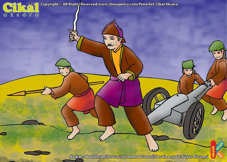 Sultan Mahmud Badaruddin II Memerangi 2 Penjajah Sekaligus, Belanda dan Inggris