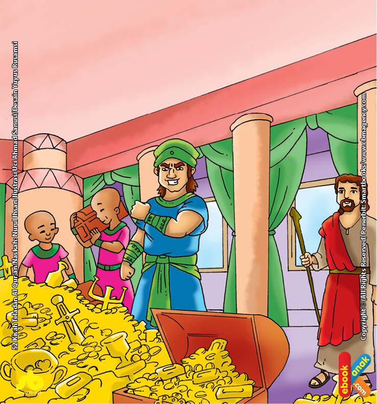 Qarun Pemilik Ribuan Gudang Harta yang Didoakan Nabi Musa