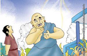 Awan Hitam dan Petir Yang Memusnahkan Kaum Madyan
