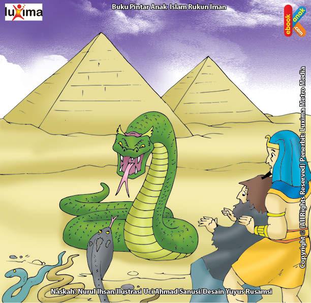 Bagaimana Cara Nabi Musa Mengalahkan Penyihir Anak Buah Firaun?