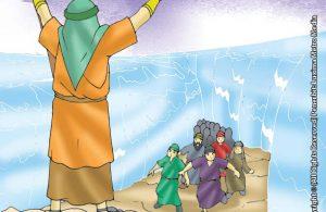 Inilah Tongkat Nabi Musa Yang Membelah Laut Merah Menjadi Jalan