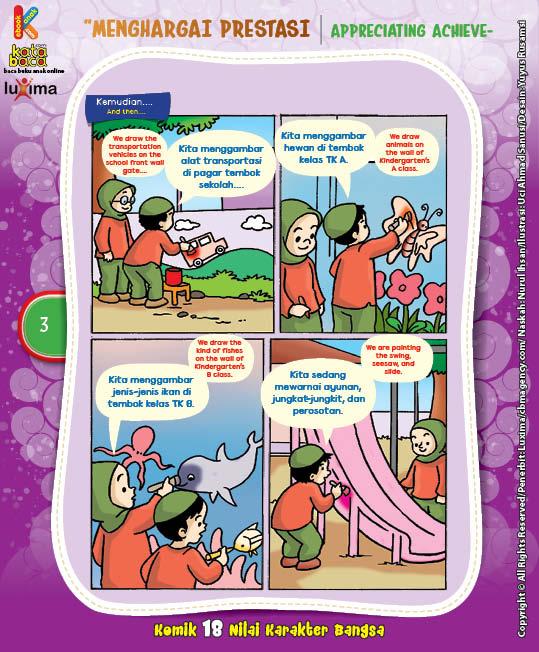 "Melukis Sekolah TK ""Painting the Kindergarten"" (3)"