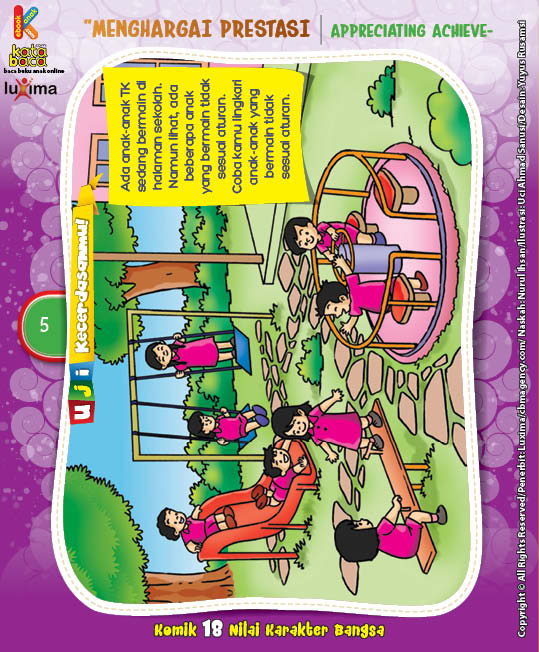 "Melukis Sekolah TK ""Painting the Kindergarten"" (5)"