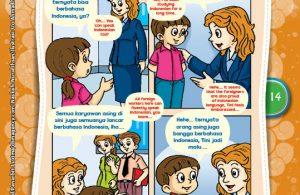 """Cas Cis Cus Bahasa Asing """"Cas Cis Cus Foreign Language"""" (4)"""