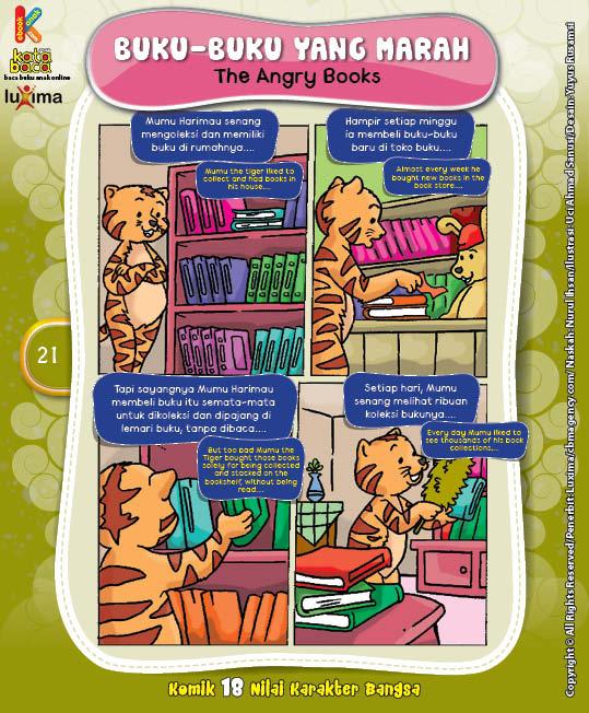 "Buku-Buku Yang Marah ""The Angry Books"""