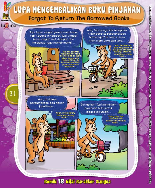 "Lupa Mengembalikan Buku Pinjaman ""Forgot To Return The Borrowed Books"""
