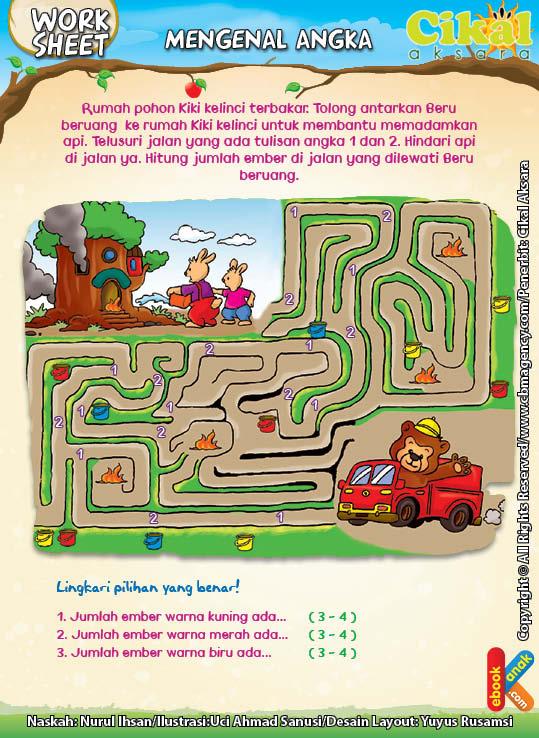 Worksheet PAUD TK Mengenal Angka (1)