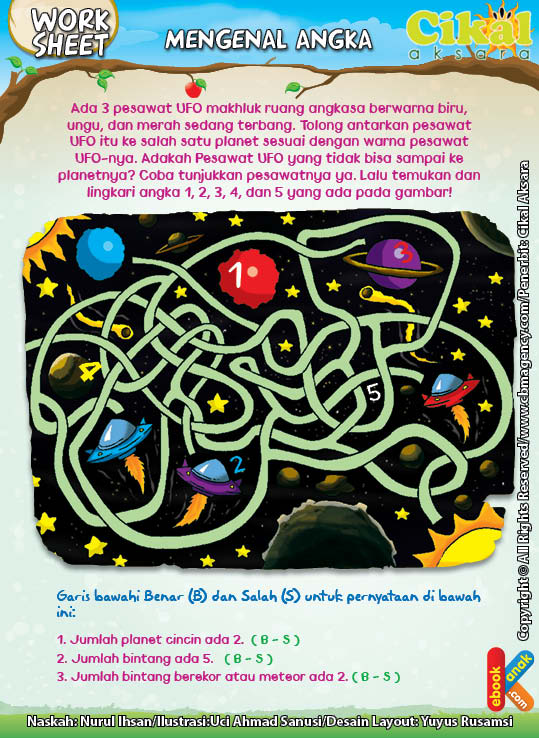 Worksheet PAUD TK Mengenal Angka (5)