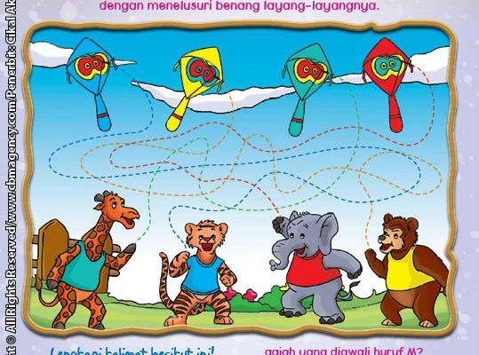 Worksheet PAUD TK Mengenal Warna (4)