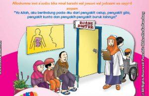 belajar mengenal adab dan doa perlindungan dari penyakit