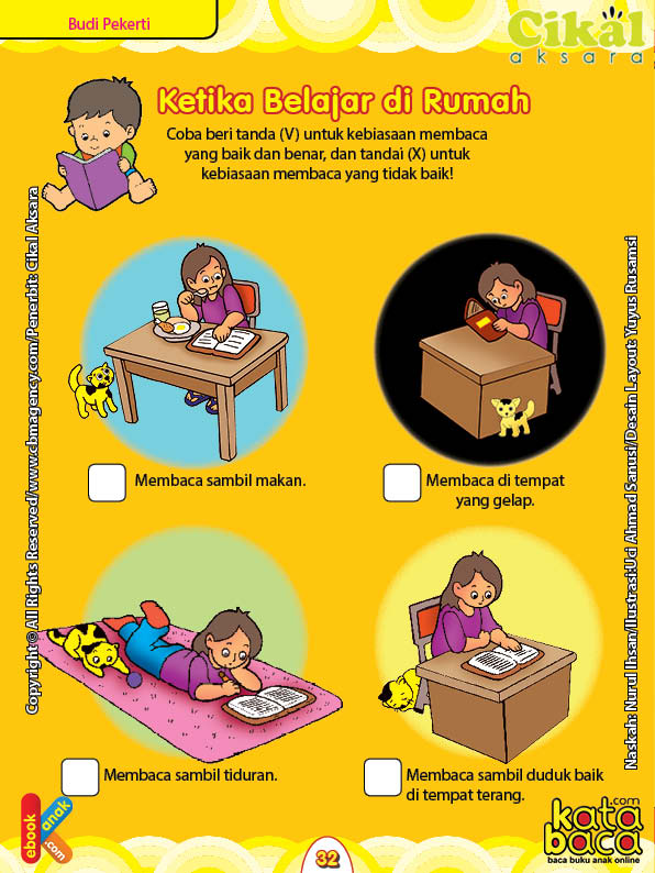 Worksheet Paud Tk A B Budi Pekerti Belajar Di Rumah Ebook Anak
