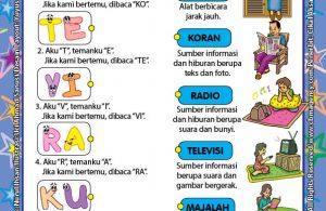 Worksheet PAUD TK A-B Mengenal Alat Komunikasi