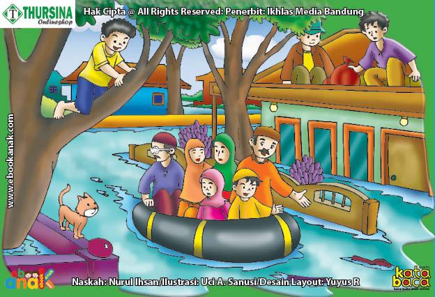 adab dan doa jika terjadi banjir