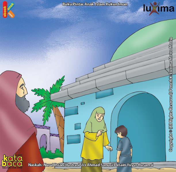 Nabi Ilyasa' Menolong Anak yang Sedang Dianiaya Seorang Wanita Bangsawan