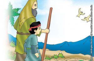 Nabi Ilyasa' Sakit dan Berpesan Untuk Merawat Anak Yatim