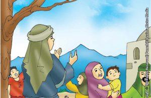 Persembunyian Nabi Ilyas di Rumah Ibu Tua yang Memiliki Anak Sakit-Sakitan