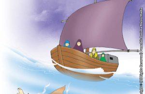 Undian Nabi Yunus Untuk Terjun Ke Laut Sehingga Ditelan Ikan Paus Raksasa