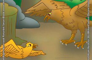 Burung Rajawali yang Sombong dan Elang yang Baik Hati