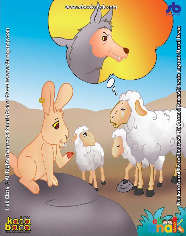Cara Kelinci Menolong Induk Domba dan Anaknya dari Ancaman Serigala