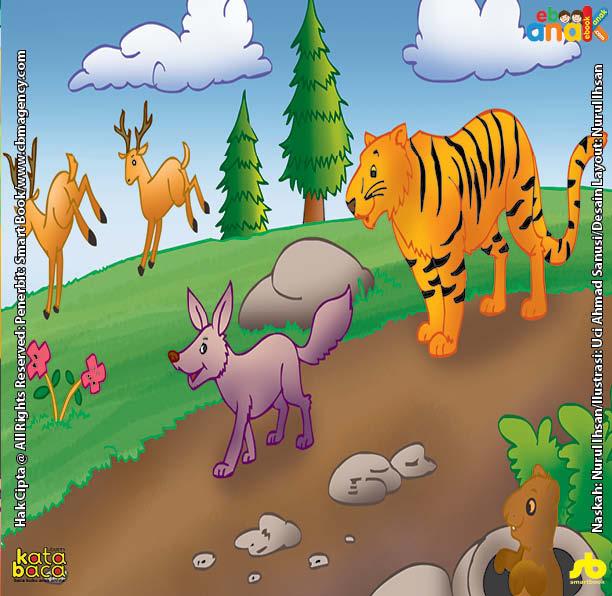 Harimau Bodoh dan Rubah yang Cerdik