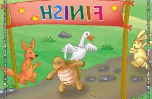 Lomba Lari Si Kencang Kiki Kelinci dan Si Lambat Kura-Kura
