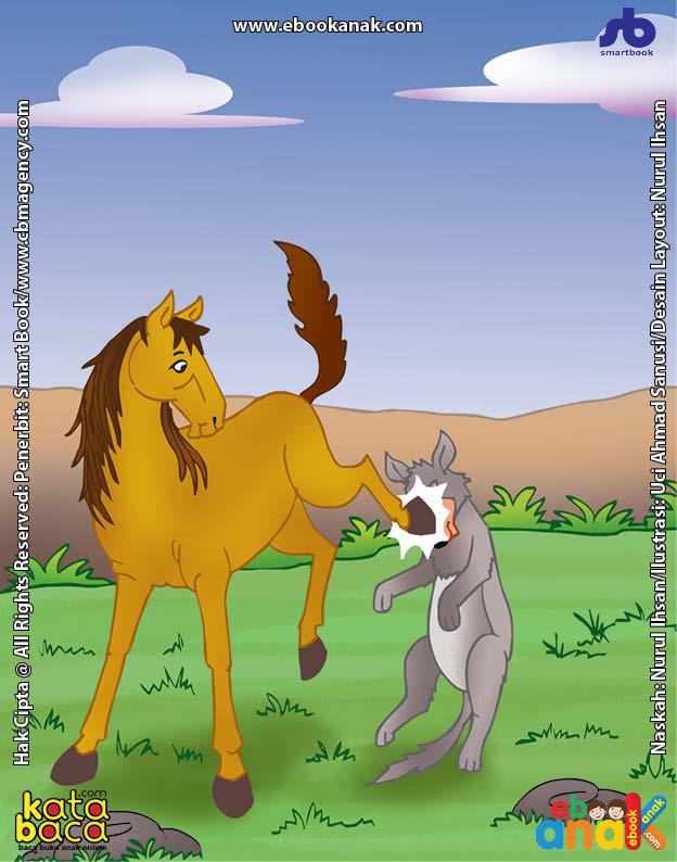 Serigala Lapar Pura-Pura Jadi Dokter Untuk Mengelabui Kuda yang Cerdik