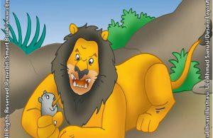 Singa Marah Saat Tikus Mengganggu Tidur Siangnya Ebook Anak