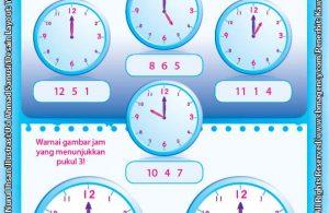 Worksheet PAUD TK A-B Mahir Belajar Waktu (2)