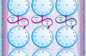 Worksheet PAUD TK A-B Mahir Belajar Waktu (3)