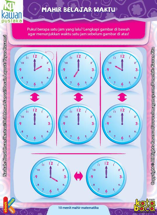 Worksheet PAUD TK A-B Mahir Belajar Waktu (5)