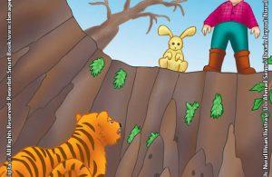 Pengembara dan Harimau yang Tak Tahu Membalas Budi