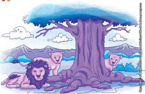 10 menit kumpulan dongeng teladan ilustrasi daun pohon yang sombong dan jasa akar pohon yang terlupakan