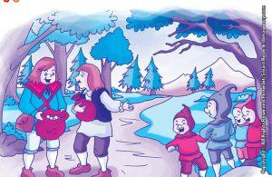 10 menit kumpulan dongeng teladan ilustrasi dua pemuda dan empat kurcaci baik hati