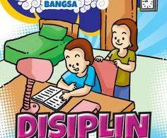 cover download gratis ebook pdf komik nilai-nilai karakter anak bangsa disiplin