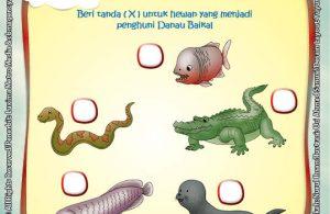 Ebook Seri Sains Anak Mengenal Alam Semesta Rahasia Keajaiban Bumi, binatang penghuni danau baikal