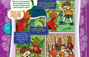 "Andy Si Manusia Semut ""Andy the Ant Man""(2)"