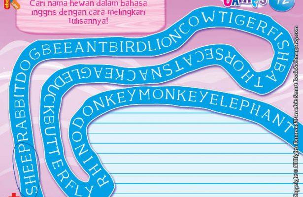 baca dan download gratis ebook 10 menit kumpulan dongeng teladan mencari nama hewan dalam bahasa inggris
