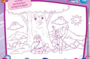 baca dan download gratis ebook 10 menit kumpulan dongeng teladan mewarnai gambar