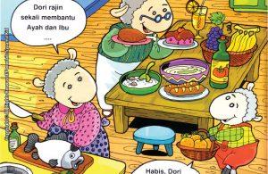 baca dan download gratis seri balita shalih Menyayangi Islam karena islam mengajarkan mencintai orangtua