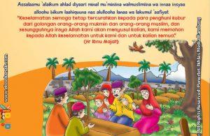 belajar mengenal adab dan doa ketika ziarah ke kubur
