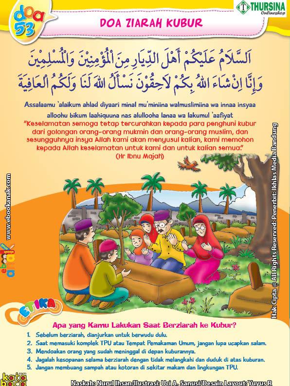Belajar Mengenal Adab Dan Doa Berziarah Ke Kubur Ebook Anak
