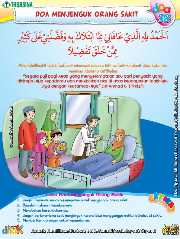 belajar mengenal adab dan doa menjenguk orang sakit