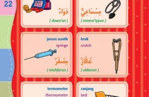 download gratis ebook pdf kamus bergambar 3 bahasa indonesia, inggris, arab benda di rumah sakit