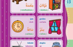 Kamus Bergambar Anak Muslim Di Ruang Tamu Bahasa Indonesia Inggris Arab 2 Ebook