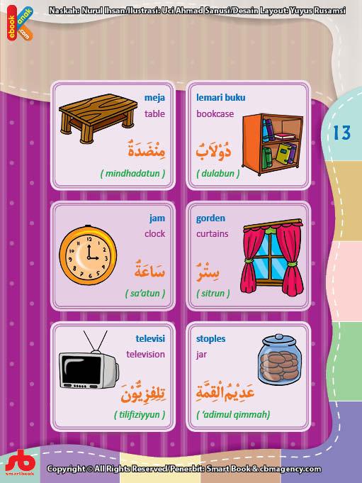Gratis Ebook Pdf Kamus Bergambar 3 Bahasa Indonesia Inggris Arab Di Ruang Tamu