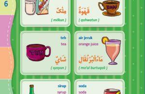 download gratis ebook pdf kamus bergambar 3 bahasa indonesia, inggris, arab makanan dan minuman 2