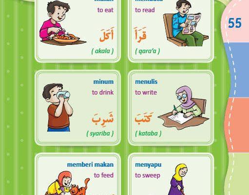download gratis ebook pdf kamus bergambar 3 bahasa indonesia, inggris, arab mengenal kata kerja (1)
