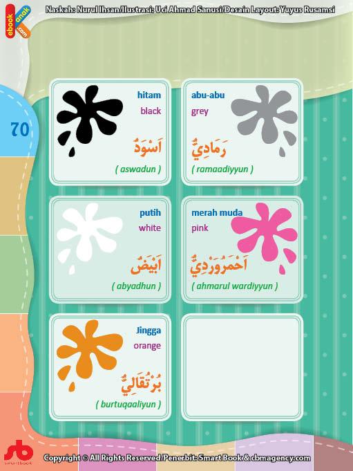 download gratis ebook pdf kamus bergambar 3 bahasa indonesia, inggris, arab mengenal warna (2)
